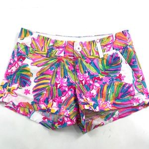 Lilly Pulitzer The Walsh Shorts Sz 00